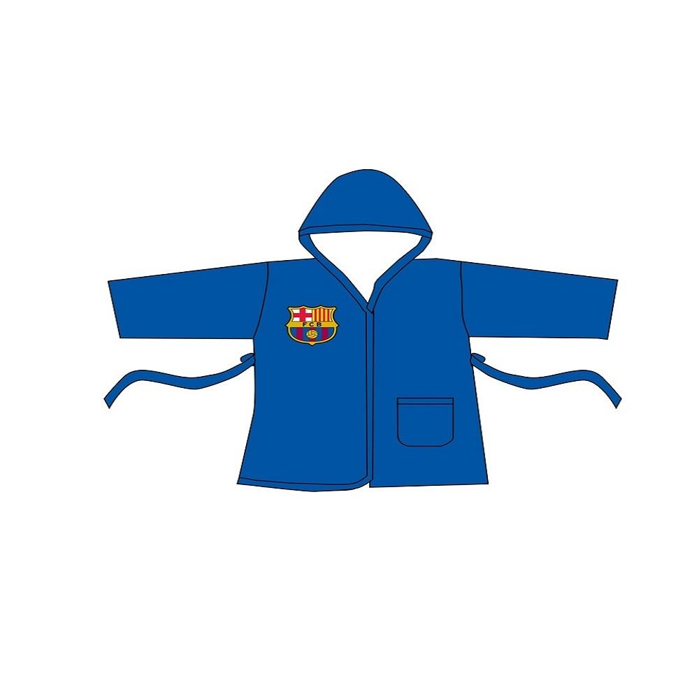 חלוק מגבת לילדים - מותג ברצלונה מידה 9-10