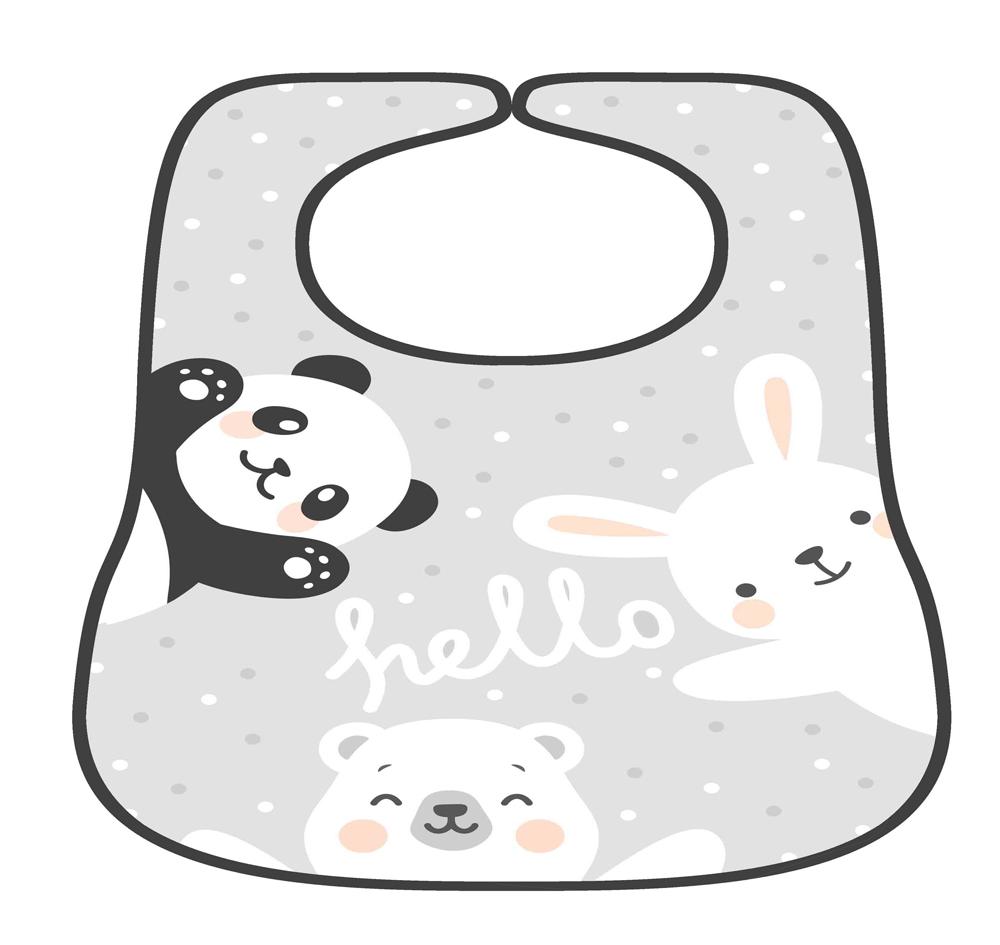 סינר לתינוק דגם דובים