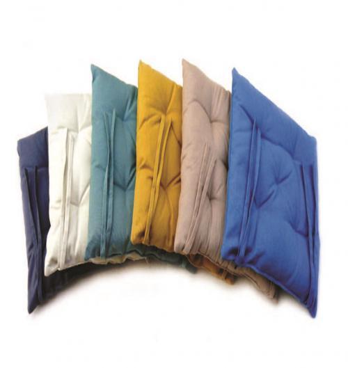 מארז 6 כריות ישיבה 40/40 במגוון צבעים