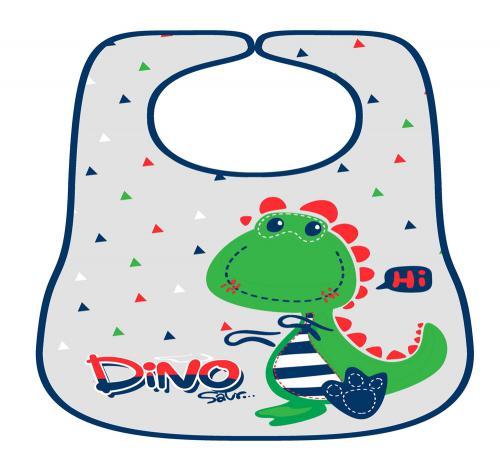 סינר לתינוק דגם דינוזאור